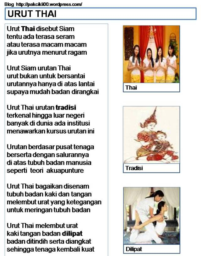 Urut Thai