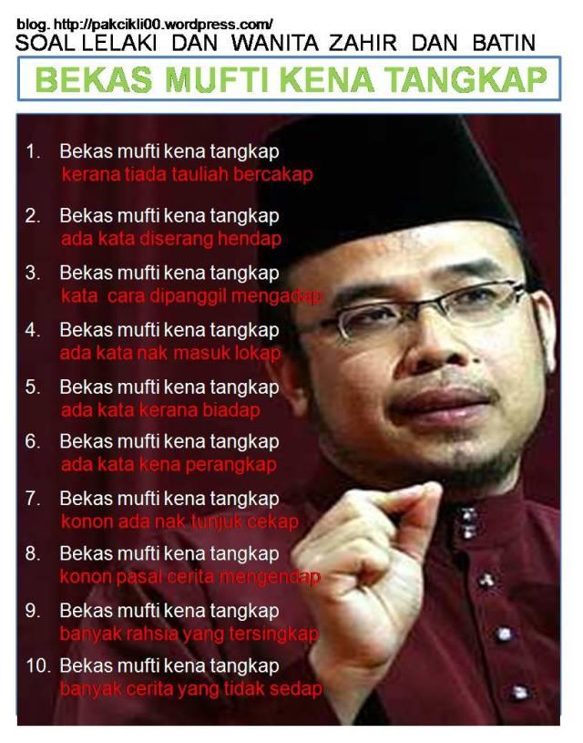 bekas mufti kena tangkap_NIZAR News