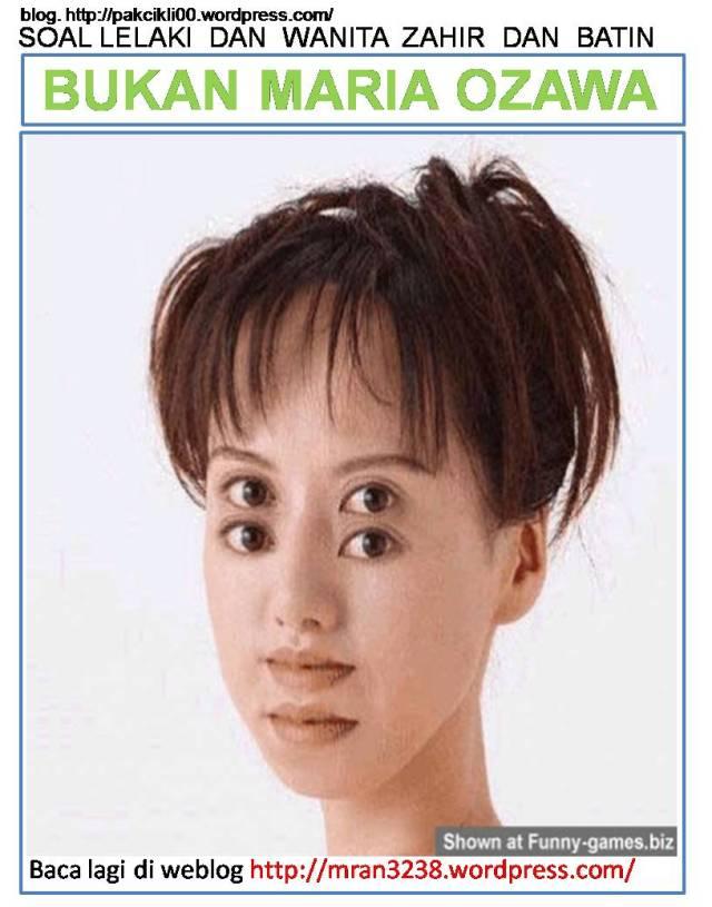 bukan Maria Ozawa