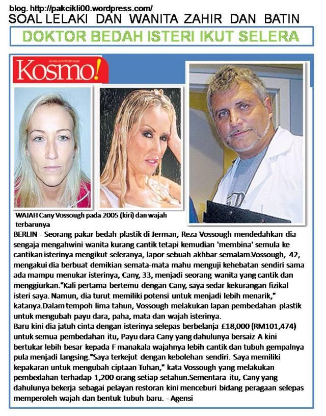 doktor bedah isteri ikut selera