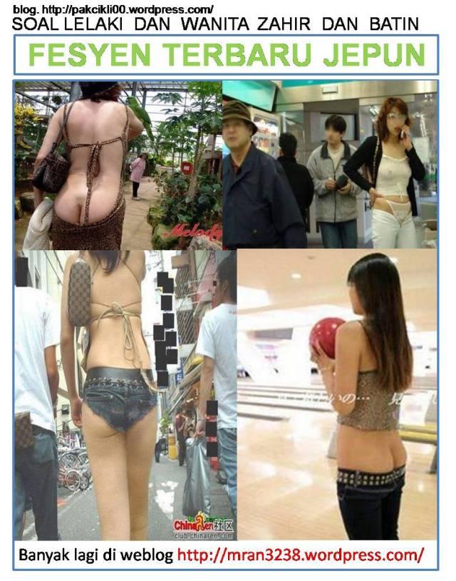 fesyen terbaru Jepun