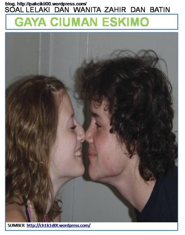 gaya ciuman eskimo