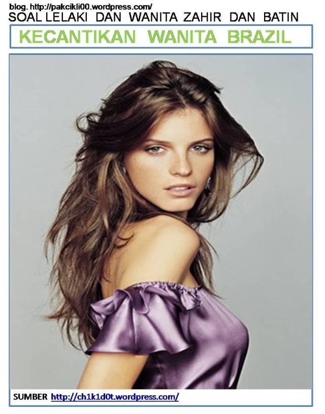 kecantikan wanita Brazil
