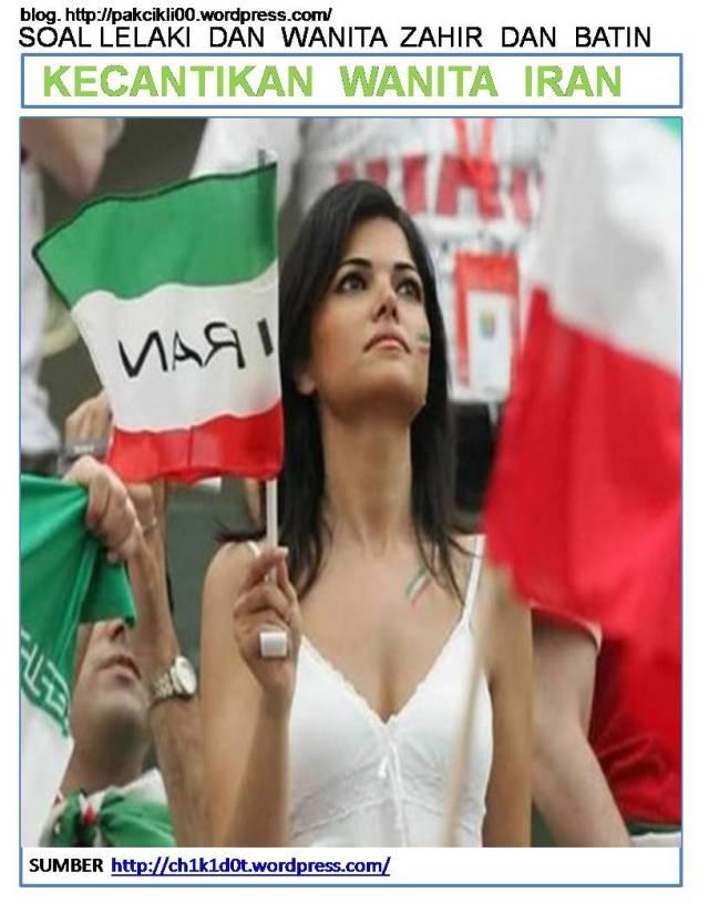 kecantikan wanita Iran