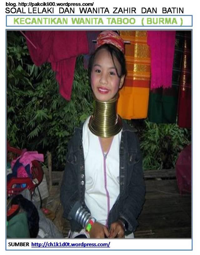 kecantikan wanita Taboo (Burma)