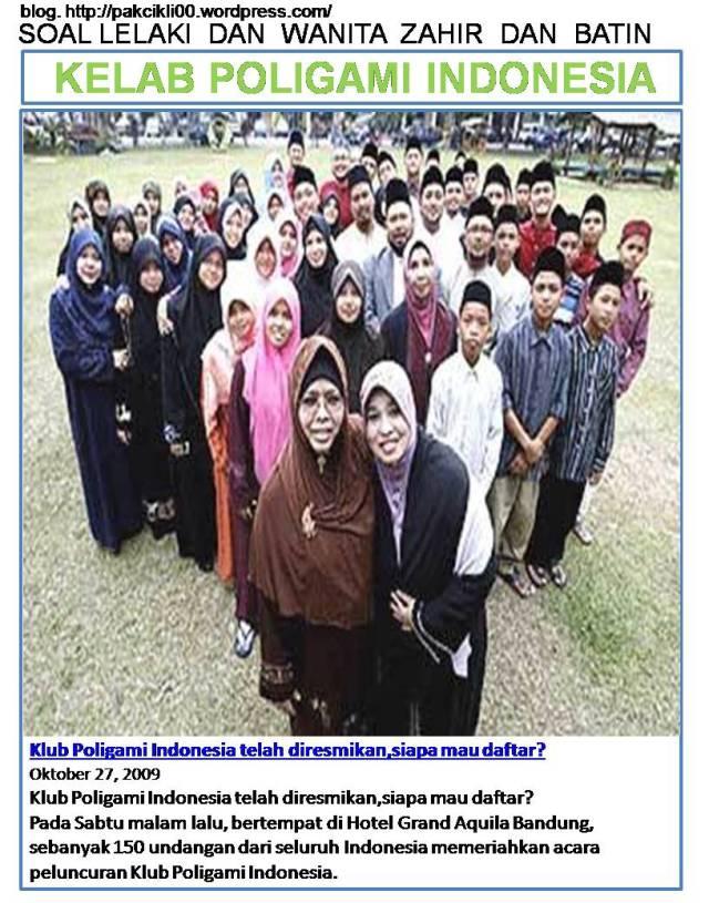 kelab poligami Indonesia