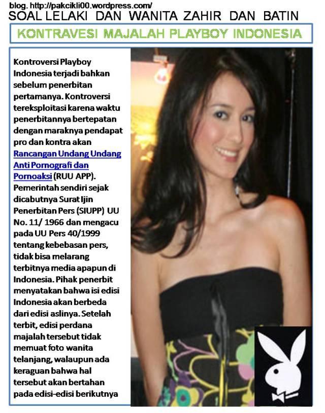 kontroversi majalah playboy Indonesia
