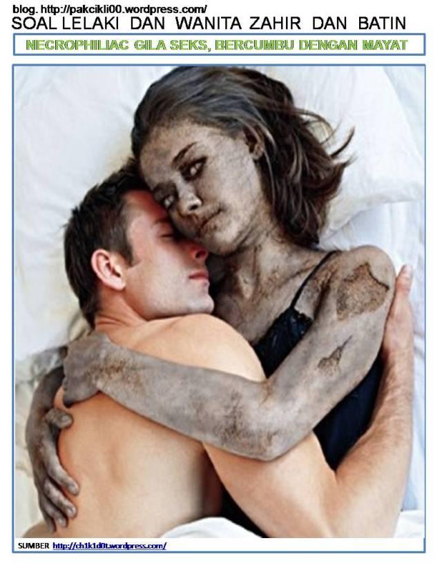 Necrophiliac gila seks bercumbu dengan mayat