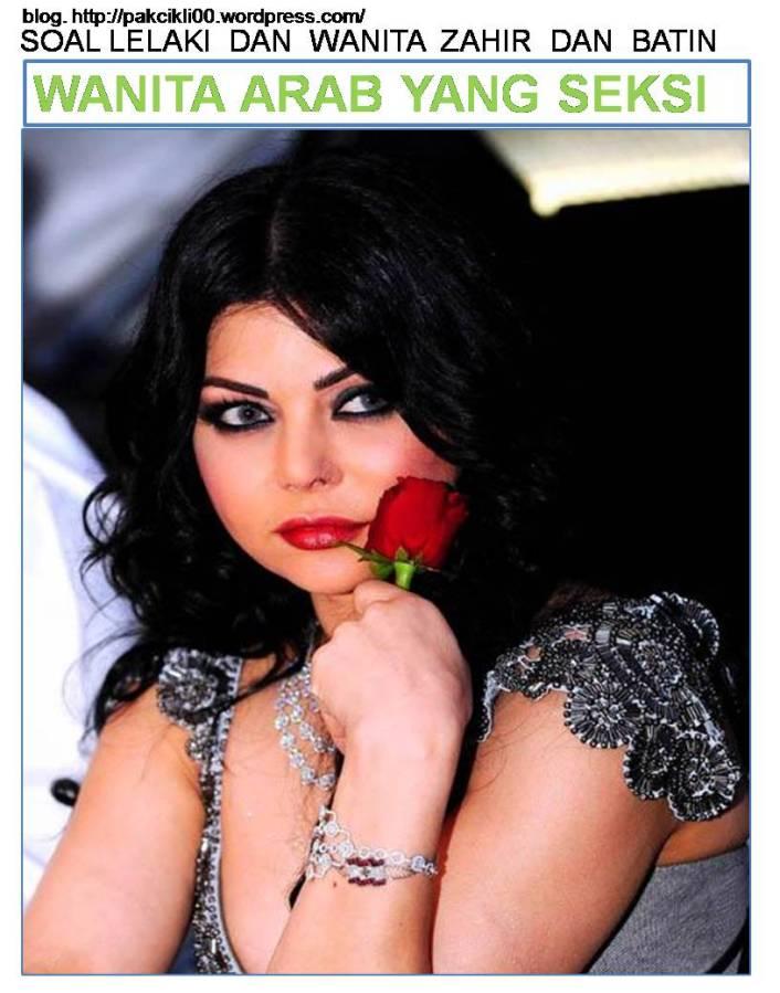 wanita Arab yang seksi