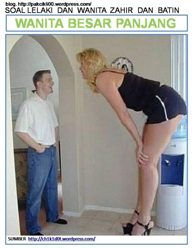 wanita besar panjang
