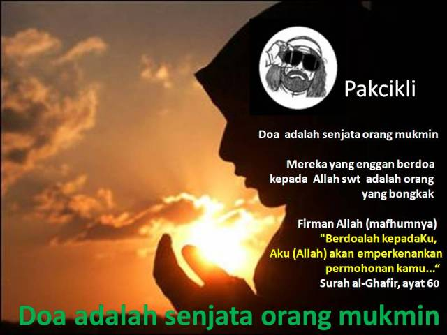 doa senjata orang mukmin